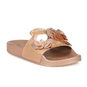 2b25b8338d272 Huskie Women s Beaded Sequin Slide Sandals